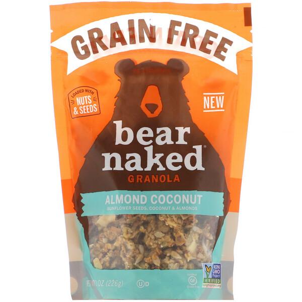 Bear Naked, Беззерновая гранола, миндаль и кокос, 226 г (8 унций)