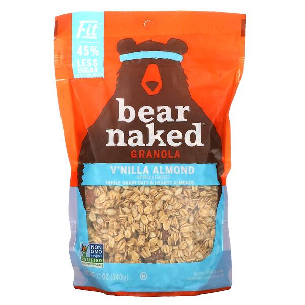 100% Natura Granola, Fit, V'nilla Almond, 12 oz (340 g)
