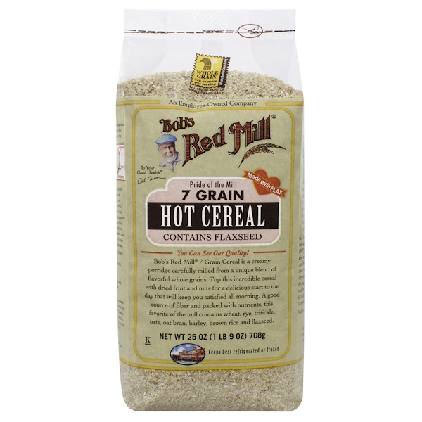 Bob's Red Mill, 7 Grain Hot Cereal, 25 oz (708 g) (Discontinued Item)