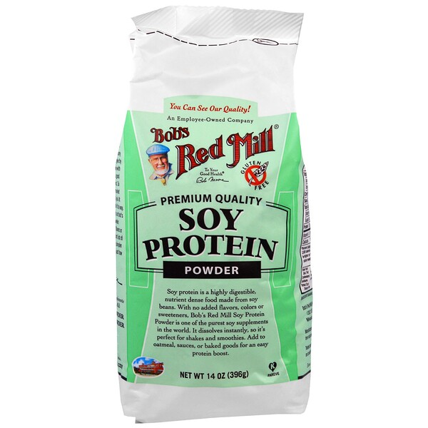 Bob's Red Mill, Порошок соевого белка, 396 г (14 унций)