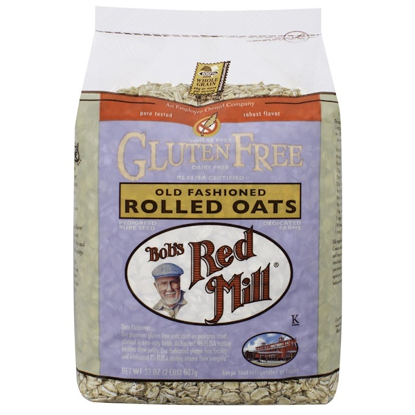 Bob's Red Mill, Old Fashioned Rolled Oats, Gluten Free, 32 oz (907 g) (Discontinued Item)
