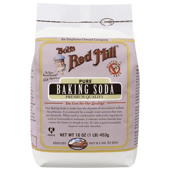 Bob's Red Mill, Чистая сода для выпечки, без глютена, 453г (Discontinued Item)
