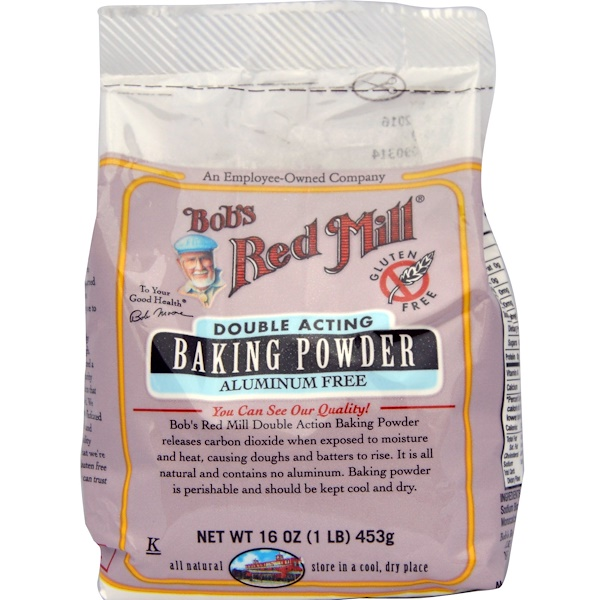 Bob's Red Mill, Пекарный порошок, без глютена, 453г (Discontinued Item)