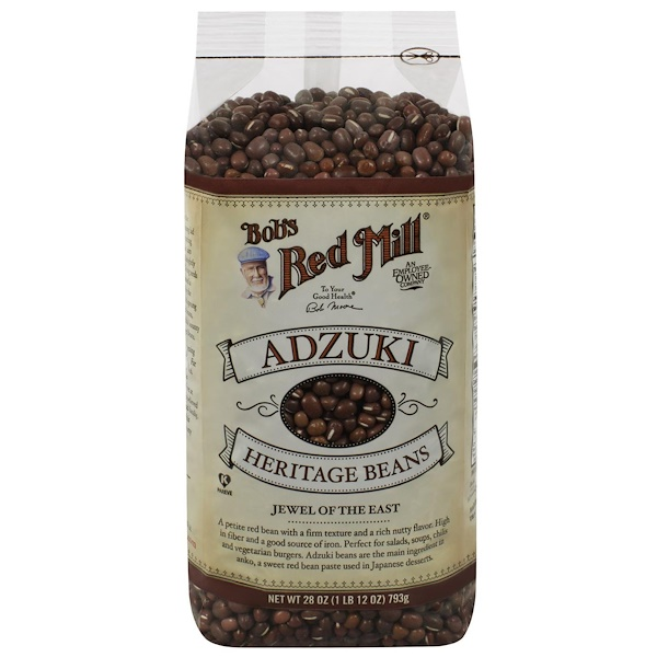 Bob's Red Mill, Adzuki Heritage Beans, 28 oz (793 g) (Discontinued Item)