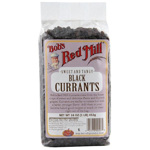 Bob's Red Mill, Черный изюм, 16 унций (453 г) (Discontinued Item)