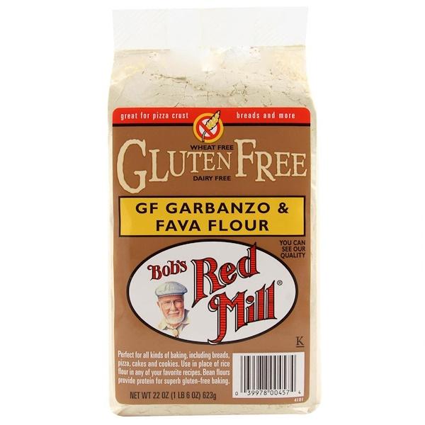 Bob's Red Mill, GF Garbanzo & Fava Flour, 22 oz (623 g) (Discontinued Item)
