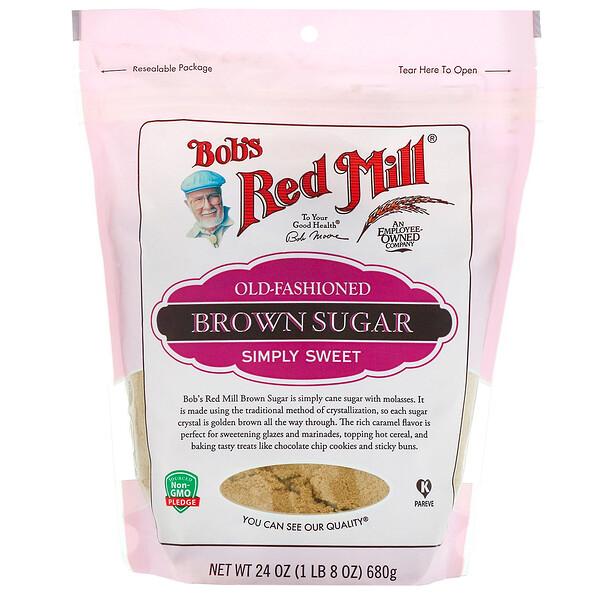 Bob's Red Mill, Традиционный коричневый сахар, 680г (Discontinued Item)
