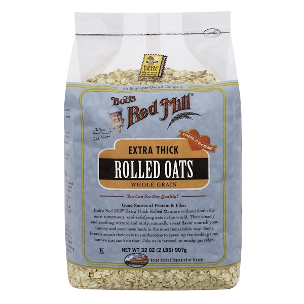 Bob's Red Mill, Extra Thick Rolled Oats, Whole Grain, 32 oz (907 g) (Discontinued Item)