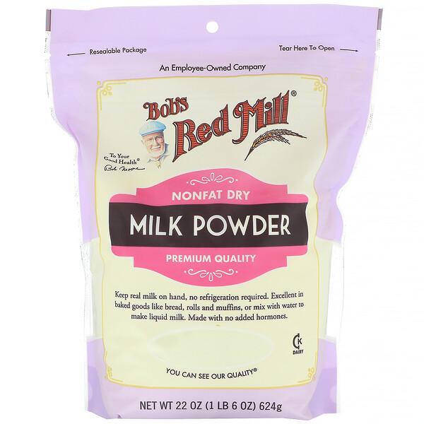 Bob's Red Mill, обезжиренное сухое молоко, 624г (22унции)