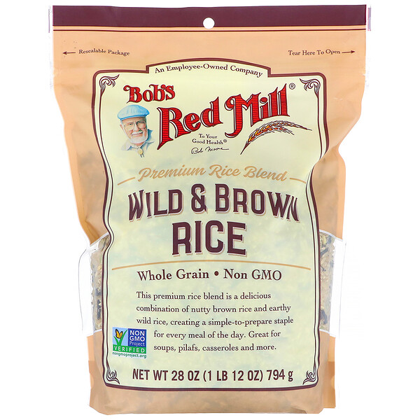Bob's Red Mill, Wild & Brown Rice, 28 oz (794 g)