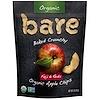 Bare Snacks, Запеченные хрустящие органические яблочные чипсы, фуджи и красные, 3 унции (85 г)