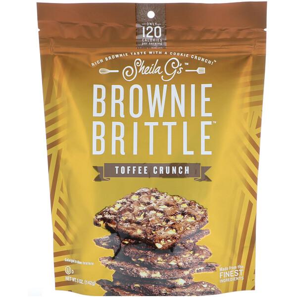 Brownie Brittle, ирис, 5 унций (142 г)