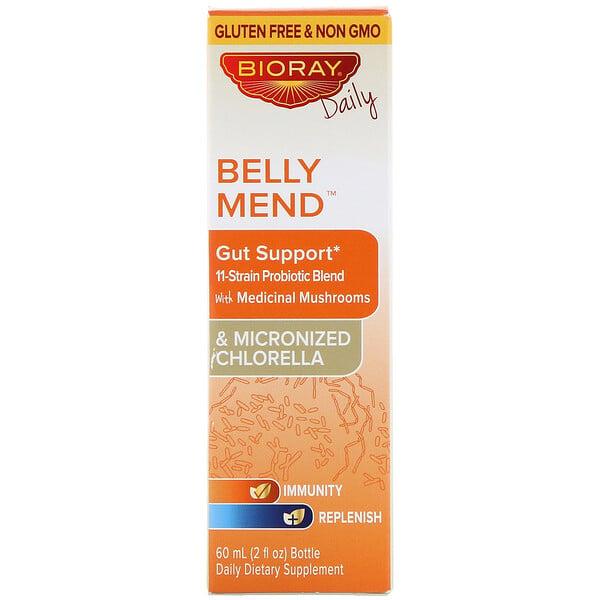 Belly Mend, добавка для нормализации функций желудочно-кишечного тракта, без спирта, 60мл