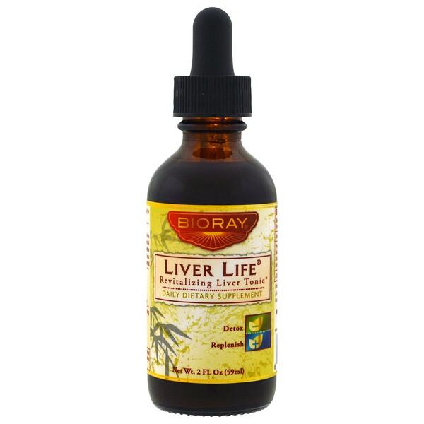 Liver Life, восстанавливающий тоник для печени, 59 мл (2 жидких унции)