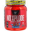 BSN, N.O.-Xplode, легендарная предтренировочная добавка, голубая малина, 555 г (1,22 фунта)