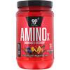 BSN, AminoX, выносливость и восстановление, фруктовый пунш, 435 г (15,3 унции)