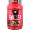BSN, Syntha-6, белковый порошок наивысшего качества для сухой мышечной массы, со вкусом шоколада и арахисового масла, 2,91 фунта (1,32 кг)