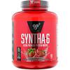 BSN, Syntha-6, белковая матрица ультрапремиального качества, клубничный молочный коктейль, 2,27кг (5,0фунта)