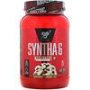 BSN, Syntha-6, ягодный вафельный рожок, 2,59 ф. (1,17 кг)