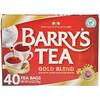 Barry's Tea, Золотая смесь, 40 чайных пакетиков, 125 г (4,4 унции)