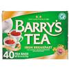 Barry's Tea, Чай «Ирландский завтрак», 40 пакетиков, 4,40 унции (125 г)