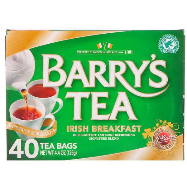 Чай «Ирландский завтрак», 40 пакетиков, 4,40 унции (125 г)