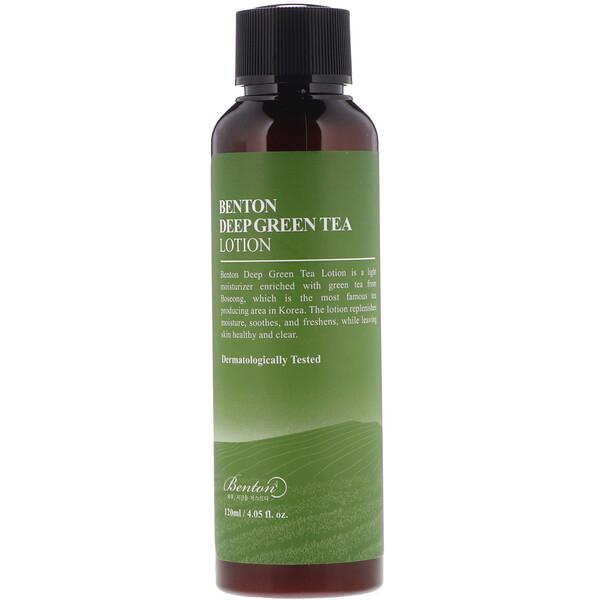 Насыщенный лосьон из зеленого чая, 4,05 жидкой унции (120 мл)