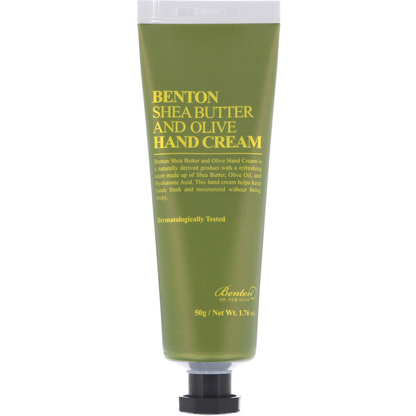 Shea Butter and Olive, Hand Cream, 1.76 oz (50 g)