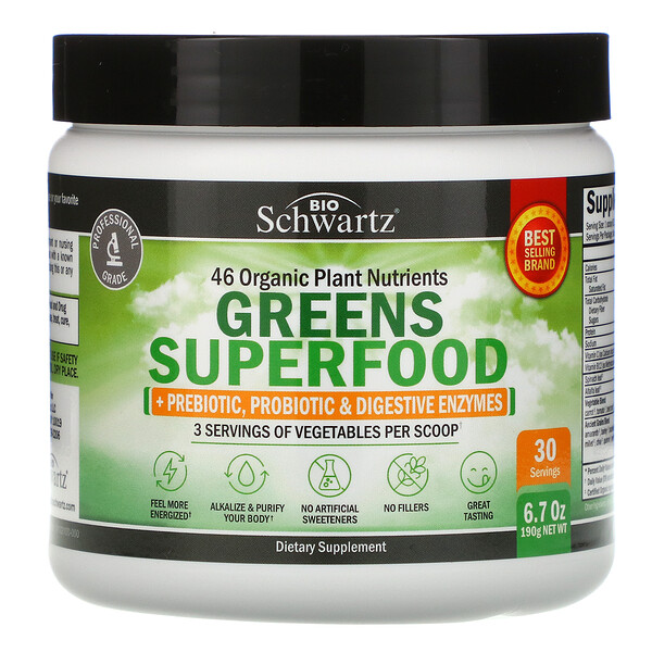 Greens Superfood, 6.7 oz (190 g)