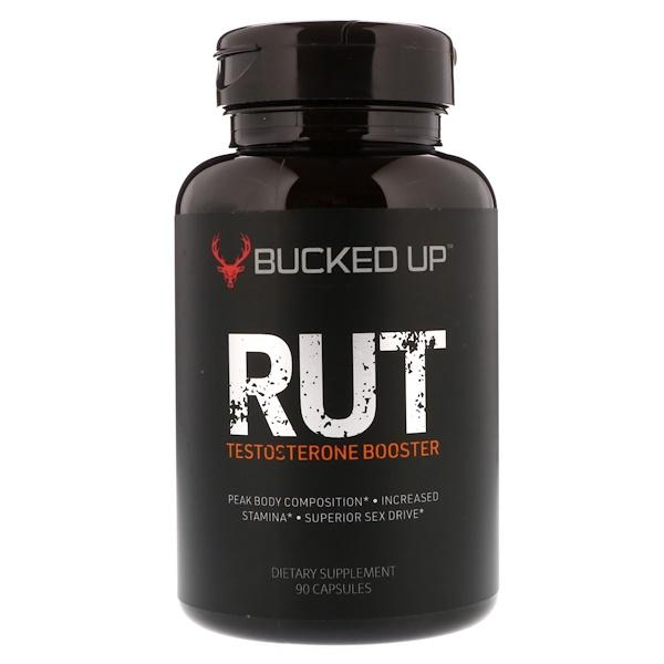 Bucked Up, RUT, Усилитель тестостерона, 90 капсул (Discontinued Item)