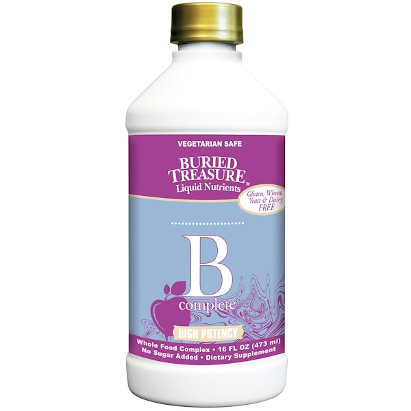 Buried Treasure, B Complete, High Potency, 16 fl oz (473 ml) (Discontinued Item)