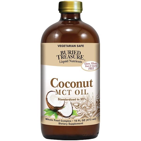Жидкие питательные вещества, кокосовое масло, 16 жидких унций (473 мл)