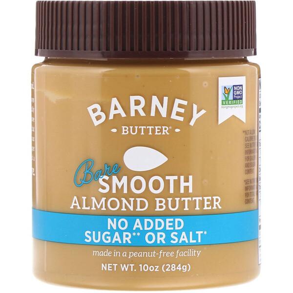 Barney Butter, Густая миндальная паста, пресная, 284 г (10 унций)