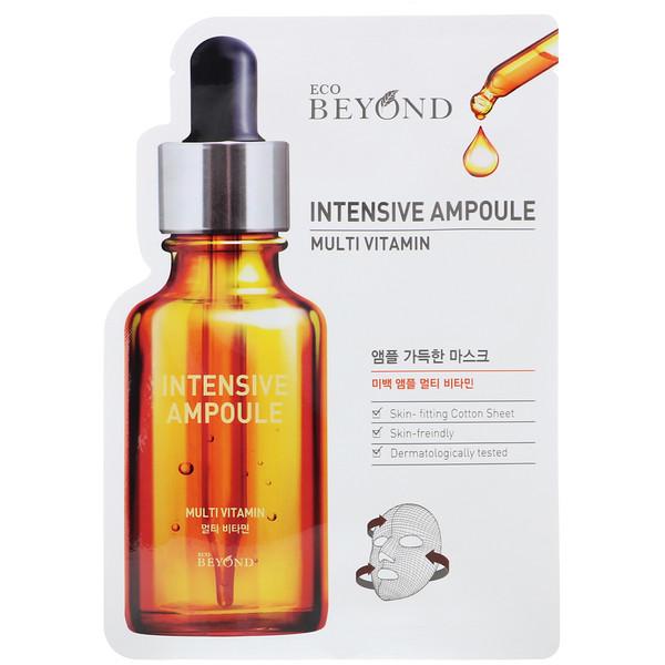 Intensive Ampoule, Multi Vitamin Mask, 1 Sheet, 0.74 fl oz (22 ml)