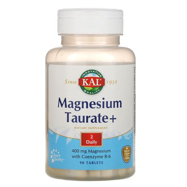 Таурат магния+, 400 мг, 90 таблеток