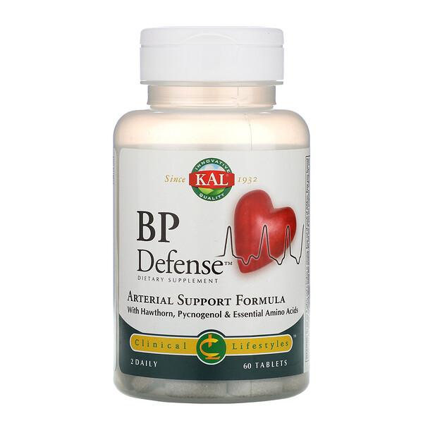 BP Defense, формула поддержки артерий, 60 таблеток