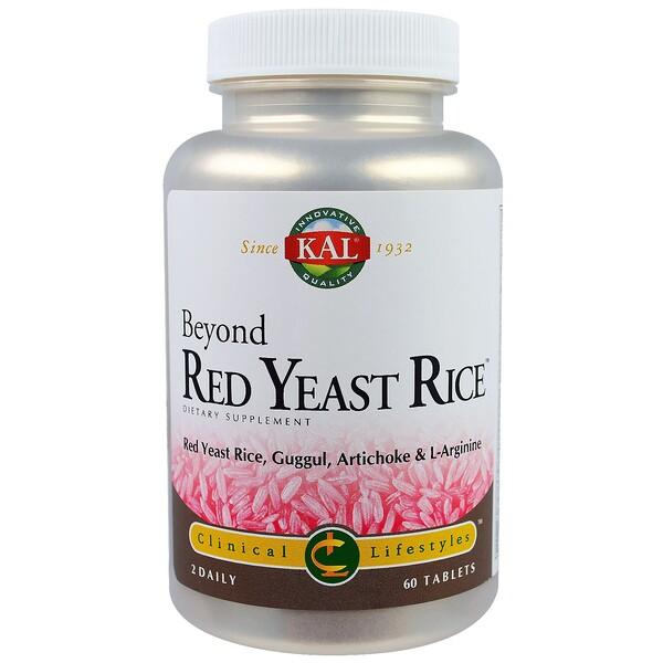 KAL, Beyond красный дрожжевой рис, 60 таблеток (Discontinued Item)