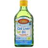 Carlson Labs, Жир печени норвежской трески, для детей, натуральный лимонный вкус, 250 мл (8,4 жидкой унции)