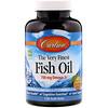 Carlson Labs, Самый лучший рыбий жир, натуральный апельсиновый вкус, 700мг, 120мягких таблеток