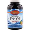 Carlson Labs, Самый лучший рыбий жир, натуральный апельсиновый вкус, 700мг, 240мягких таблеток