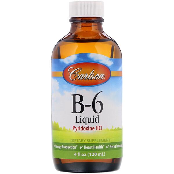 Жидкий B-6, 4 жидких унций (120 мл)