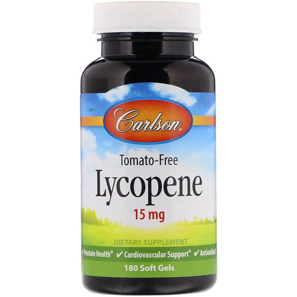 Ликопин, 15 мг, 180 мягких капсул