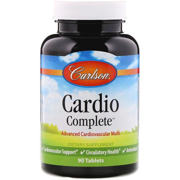 Cardio Complete, Advanced Cardiovascular Multi, 90 Tablets