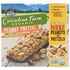 Cascadian Farm, Органические жевательные батончики с мюсли, сладко-соленые, арахисовый крендель, 5 батончиков, 1,2 унции (35 г) каждый
