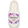 Crystal Body Deodorant, Минеральный шариковый дезодорант, без запаха, 66мл