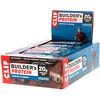 Clif Bar, Builder's Protein, протеиновый батончик, со вкусом печенья с кремом, 12батончиков, 68г (2,40унции) каждый