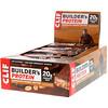 Clif Bar, Протеиновый батончик Builder's с шоколадом и арахисовым маслом, 12 батончиков, весом 68 г (2,4 унции) каждый