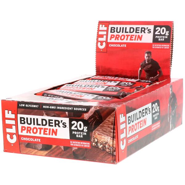 Протеиновый батончик Builder's с шоколадом, 12 батончиков, весом 68 г (2,40 унции) каждый