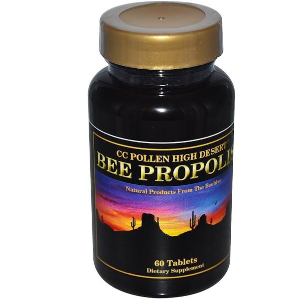 C.C. Pollen, Bee Propolis, 60 Tablets (Discontinued Item)