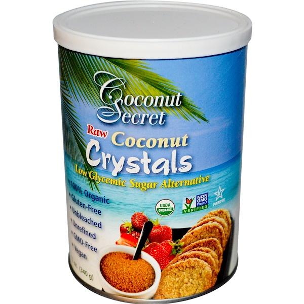 Кокосовые кристаллы, 12 унций (340 г)